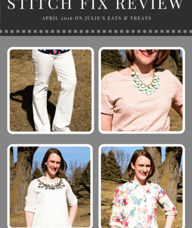 Stitch Fix Review April 2016 ~ Personalized Stylists Pick Out a Selection of Five Clothing Items or Accessories and Ship it to Your Doorstep!