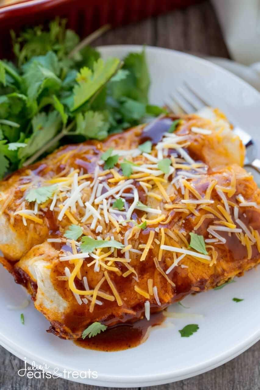 potato and cheese enchiladas