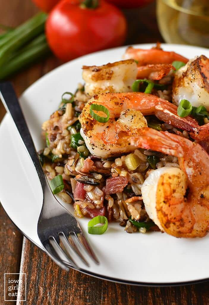 Shrimp-and-Wild-Rice-Skillet-iowagirleats-02