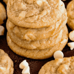 White Chocolate Macadamia Nut Cookie Pinterest Collage
