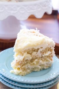 Lemon Coconut Cake | A Latte Food