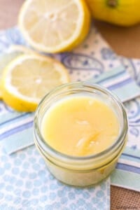 Easy Lemon Curd | A Latte Food