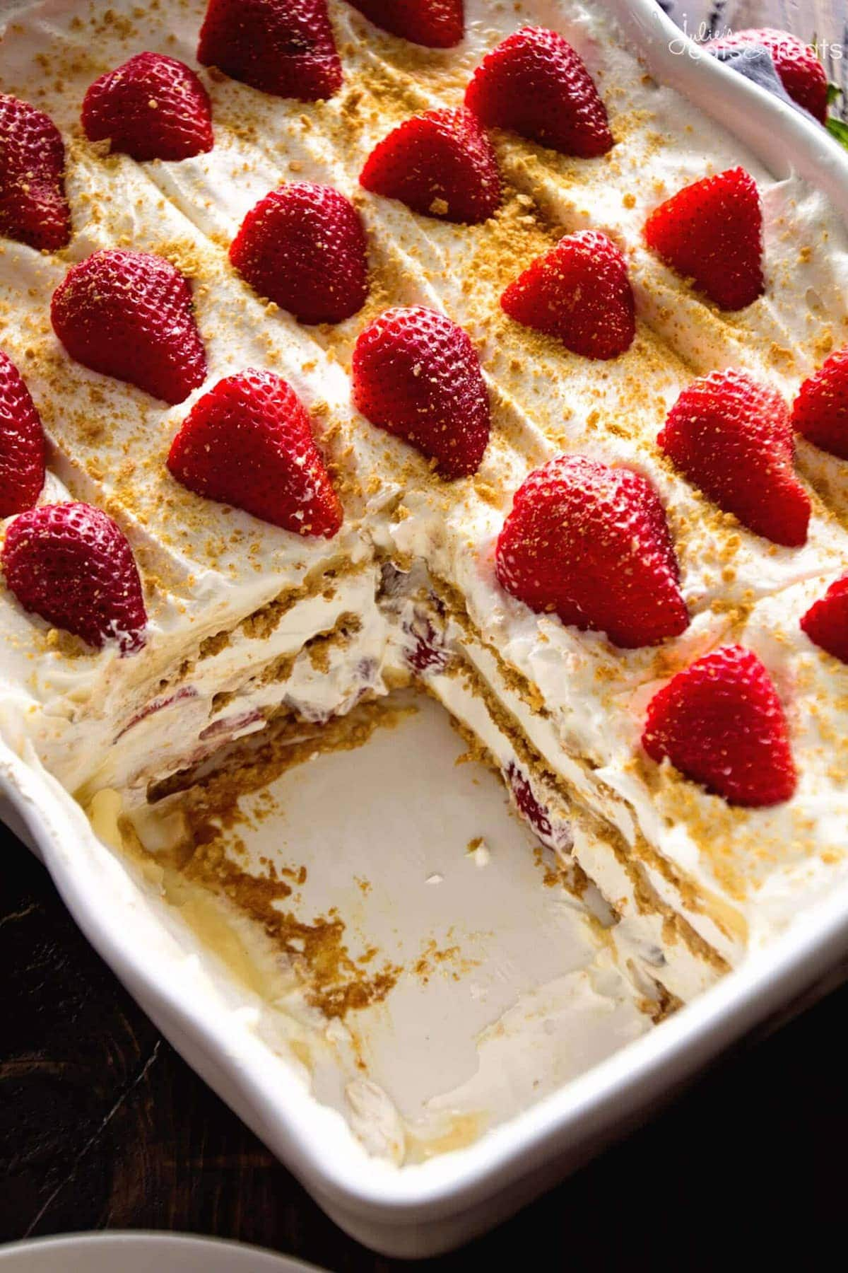 Banana Bread Pudding No Bake Strawberry Che...