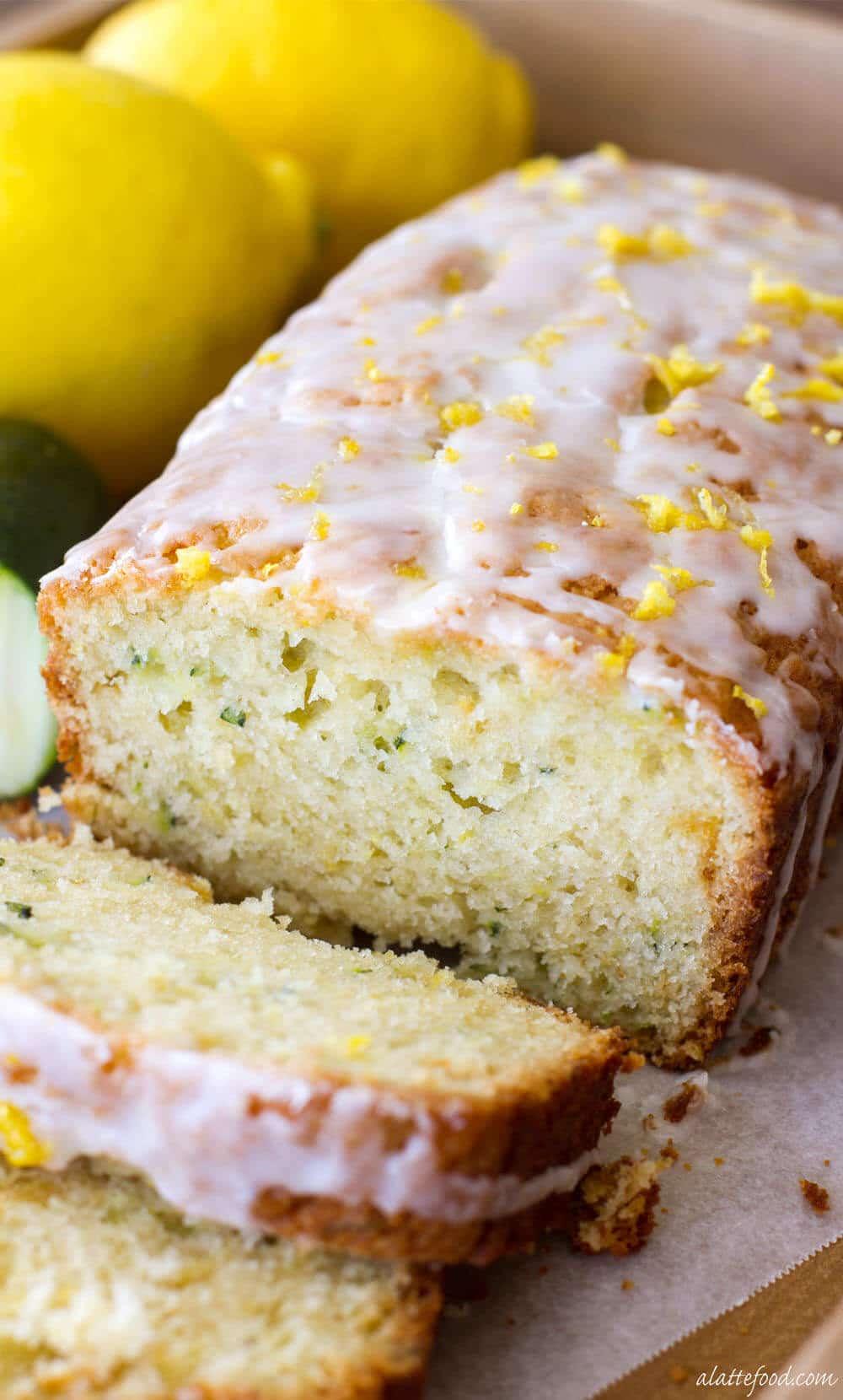 Lemon Zucchini Bread 15