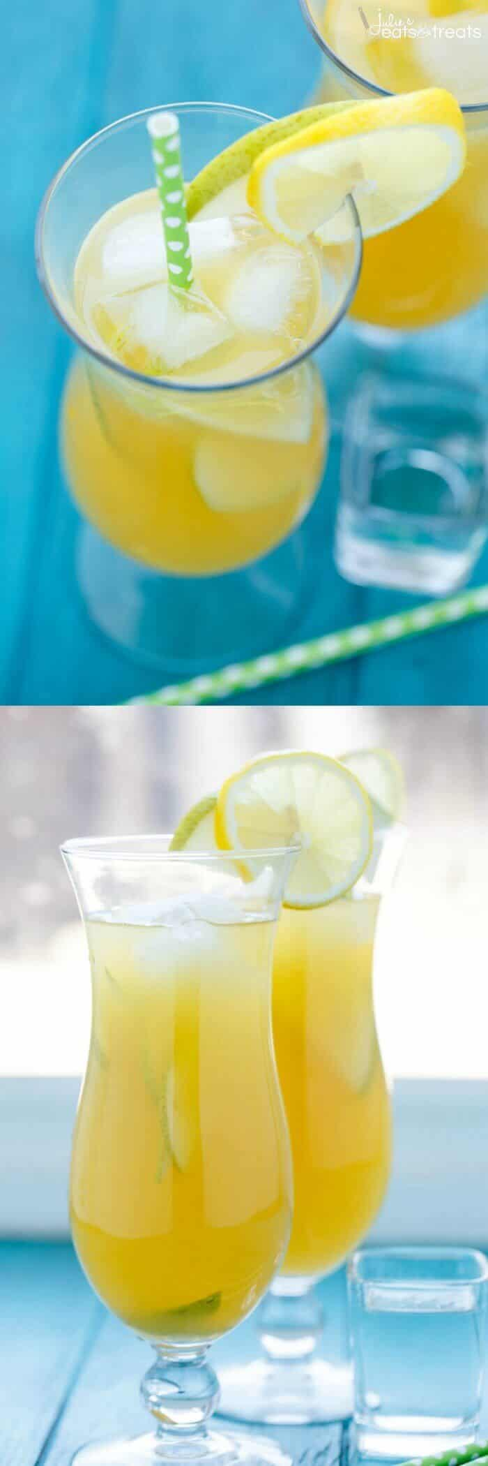 Pineapple fruit cocktail drink recipe julie 39 s eats treats for Easy fruity mixed drinks