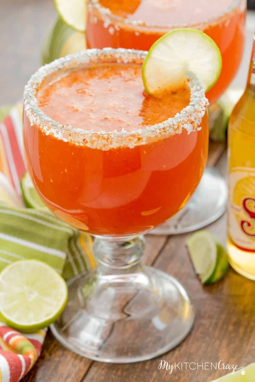 Chavela {Mexican Bloody Mary} ~ mykitchencraze.com