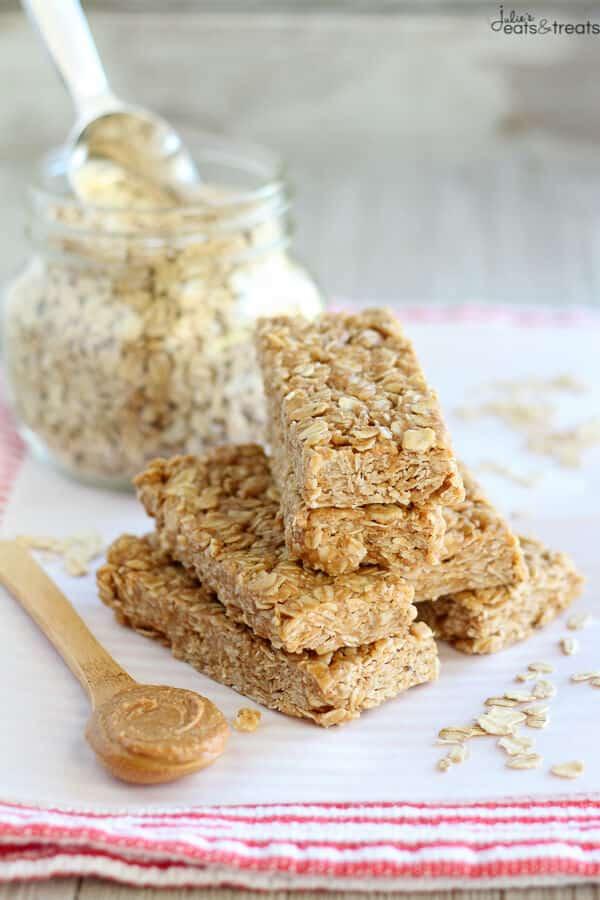 Peanut Butter Honey Granola Bars - An easy recipe for No Bake Granola ...