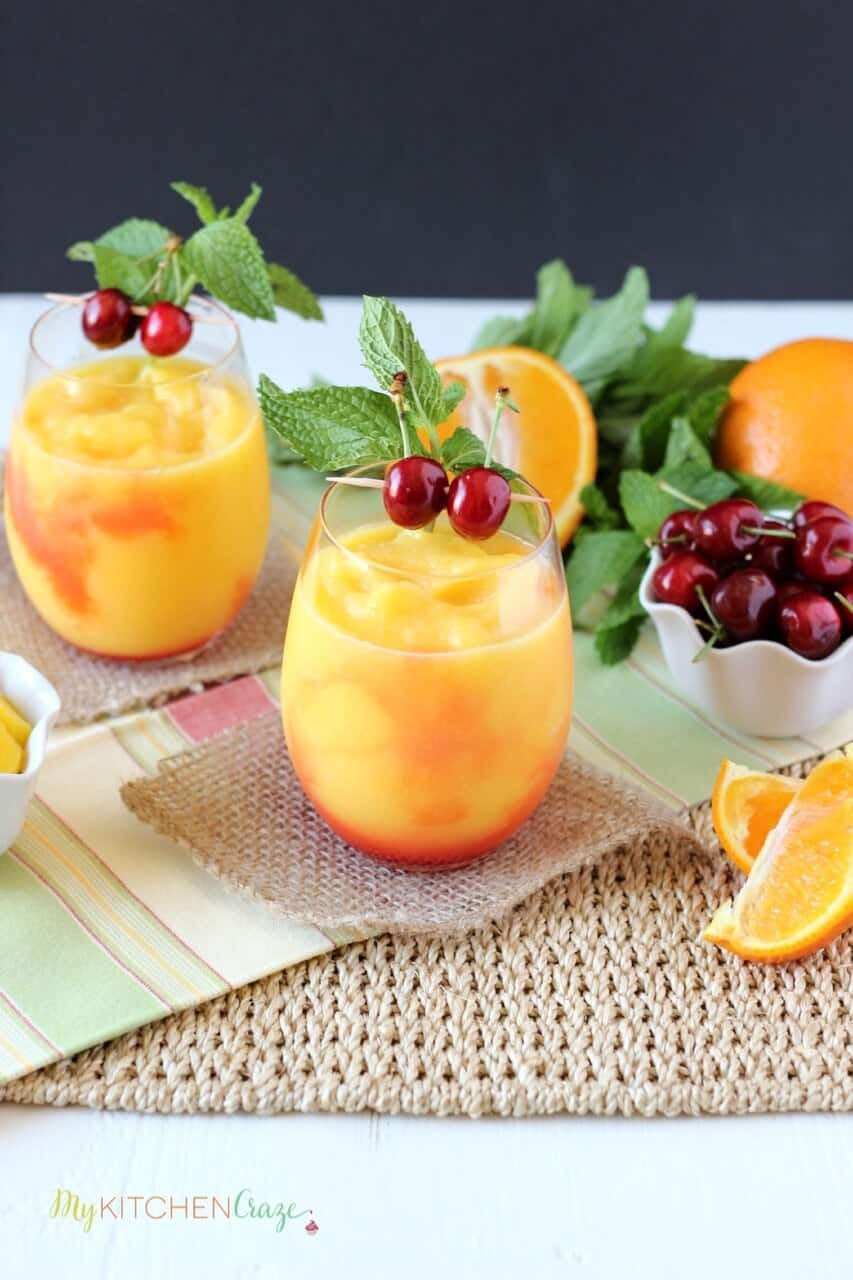 Tropical Slushie ~ mykitchencraze.com