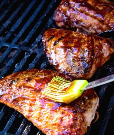 Grilled BBQ Tenderloin ~ Turkey Tenderloin Marinated in BBQ Sauce and Grilled to Perfection! Light, Healthy, Low Carb Meal!