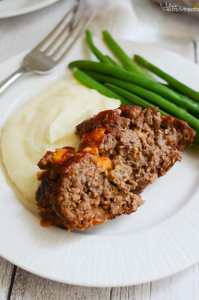 Cheesy Meatloaf Recipe — Dishmaps