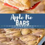 Apple Pie Bars Pinterest Image