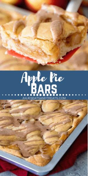 Apple Pie Bars Pinterest Image