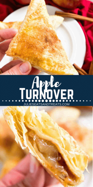 Apple Turnover Pinterest Collage