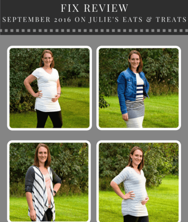 Maternity Stitch Fix Review September 2016