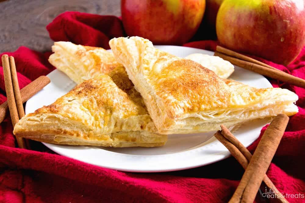Easy Apple Turnovers Julie S Eats Amp Treats