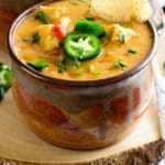 Crock Pot King Ranch Chicken Soup Pinterest Image