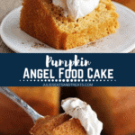 Pumpkin Angel Food Cake Pinterest