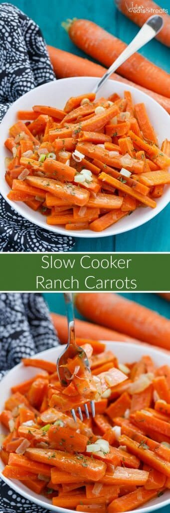 Slow Cooker Ranch Carrots