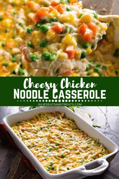 Cheesy Chicken Noodle Casserole Pinterest