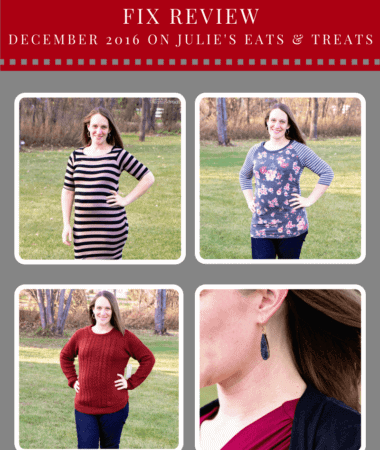 Maternity Stitch Fix Review December 2016