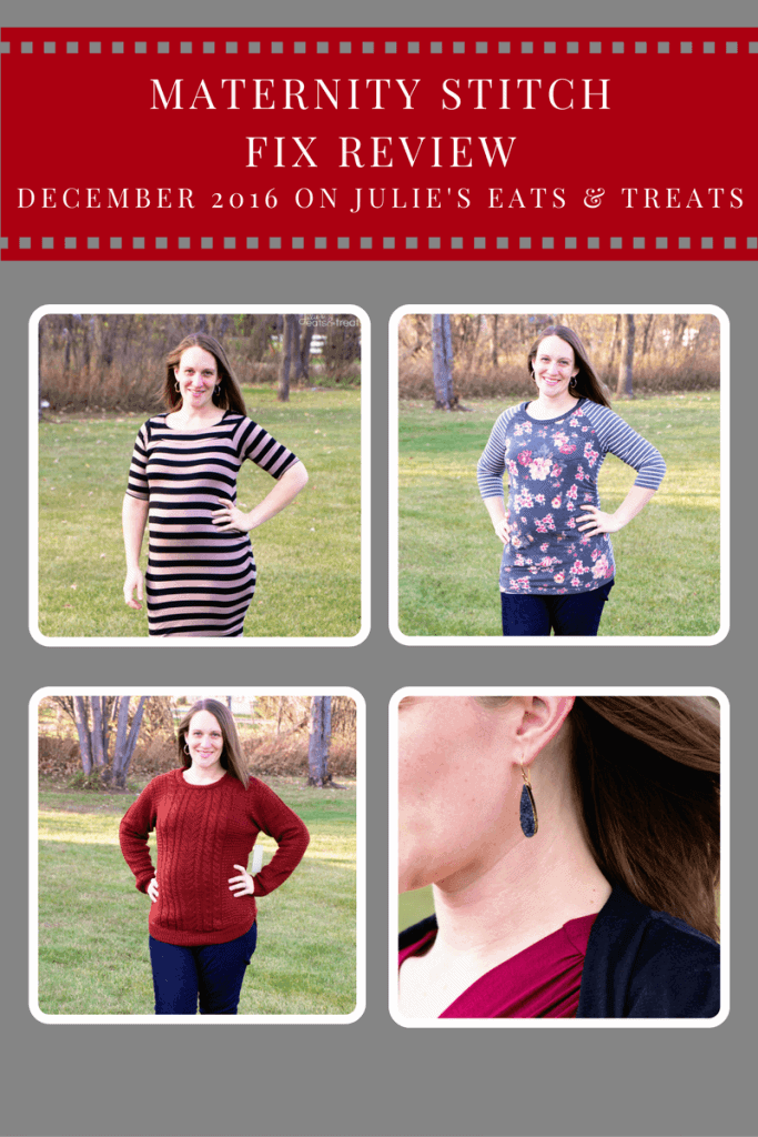 Maternity Stitch Fix Review December 2016 ~ Personalized Stylists Pick Out a Selection of Five Clothing Items or Accessories and Ship it to Your Doorstep!