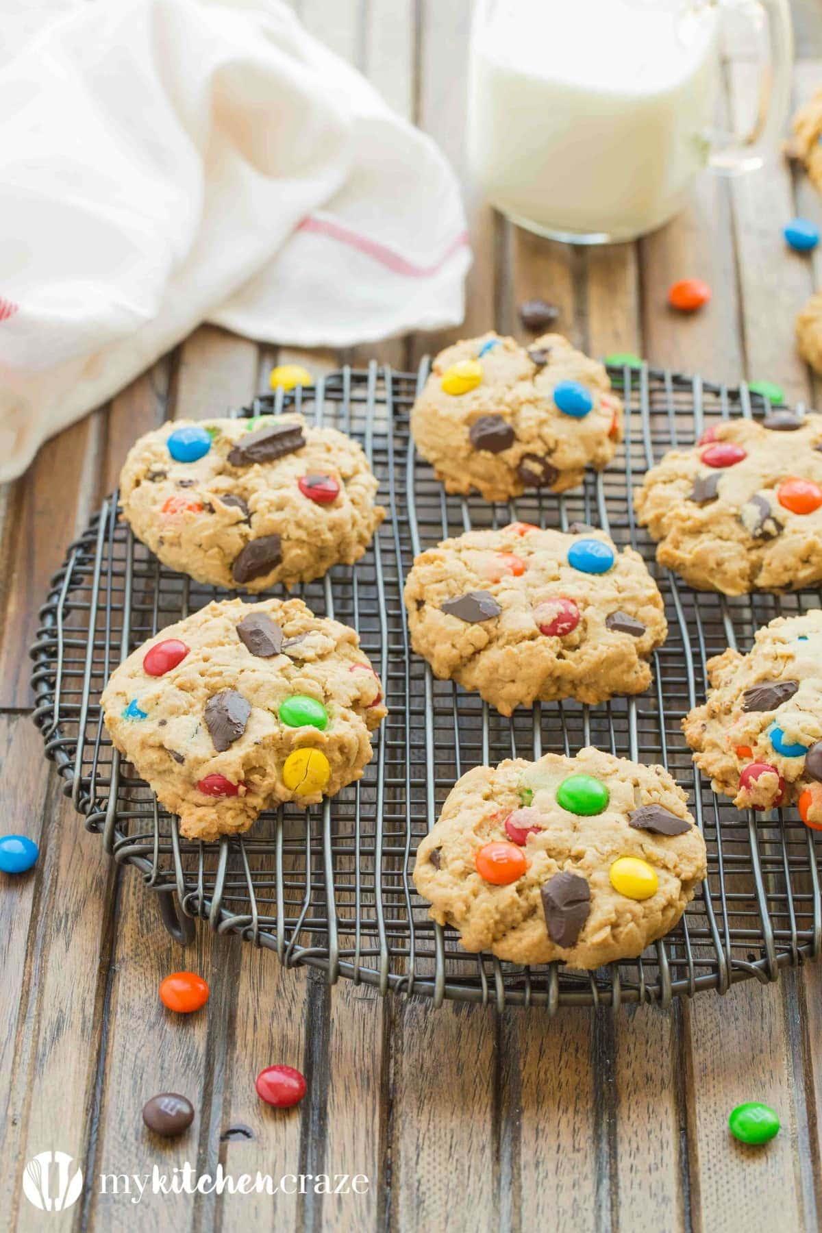 Monster Cookies ~ mykitchencraze.com
