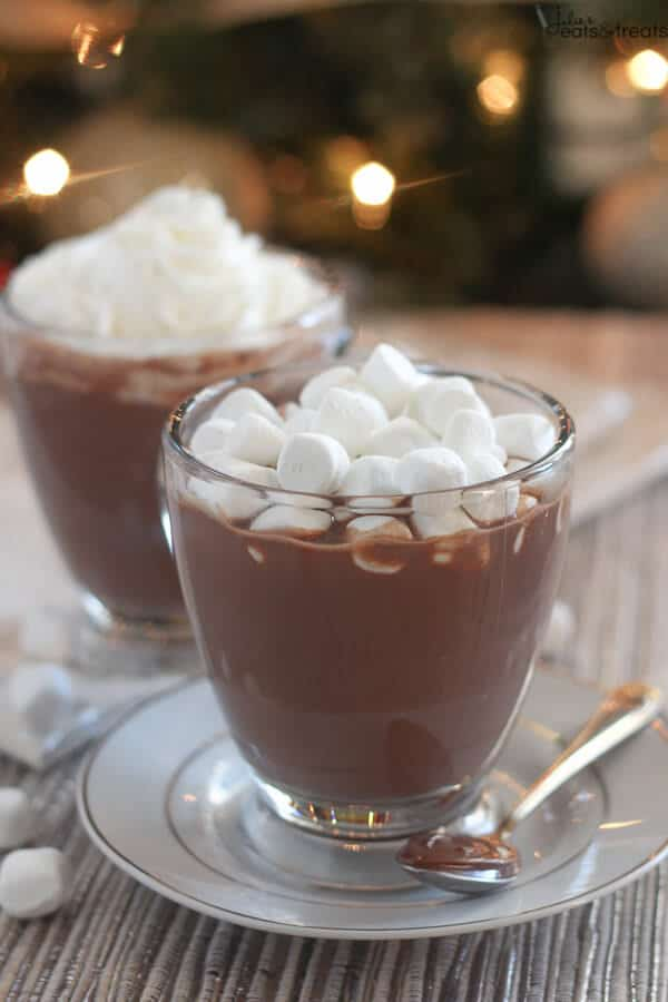 Nutella Hot Chocolate - Julie's Eats & Treats