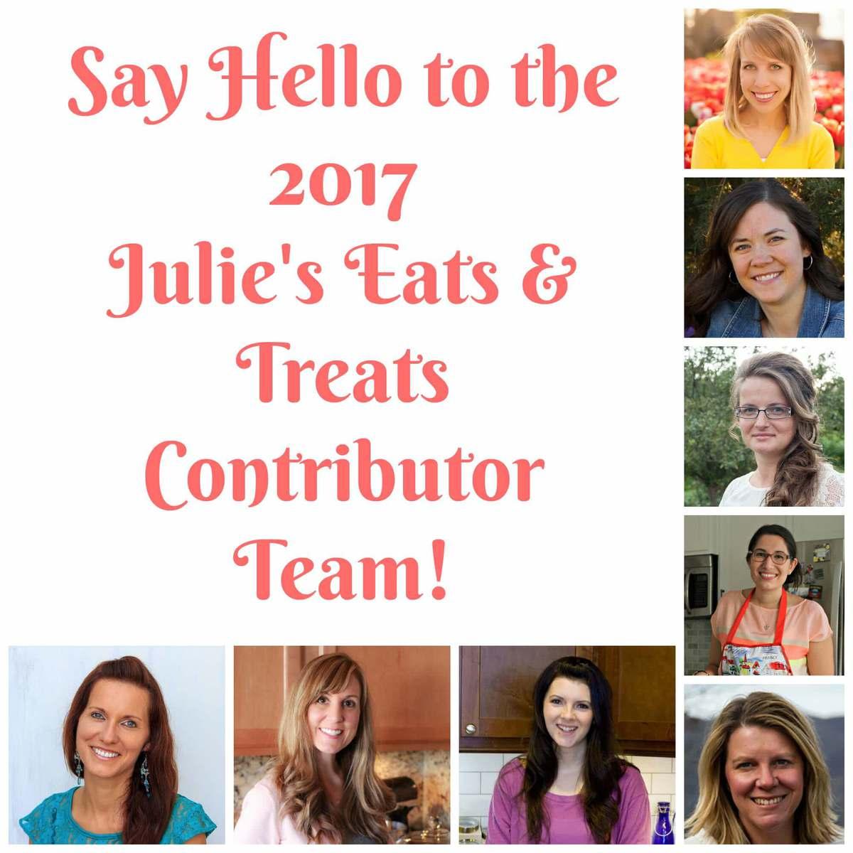 2017 Julie's Eats & Treats Contributor Team!