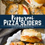Pepperoni Pizza Sliders Pinterest