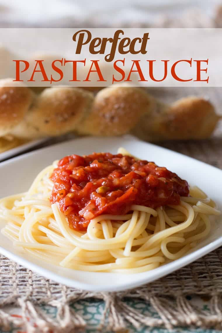 Make this perfect pasta sauce for pasta, pizza, and dipping sauce!