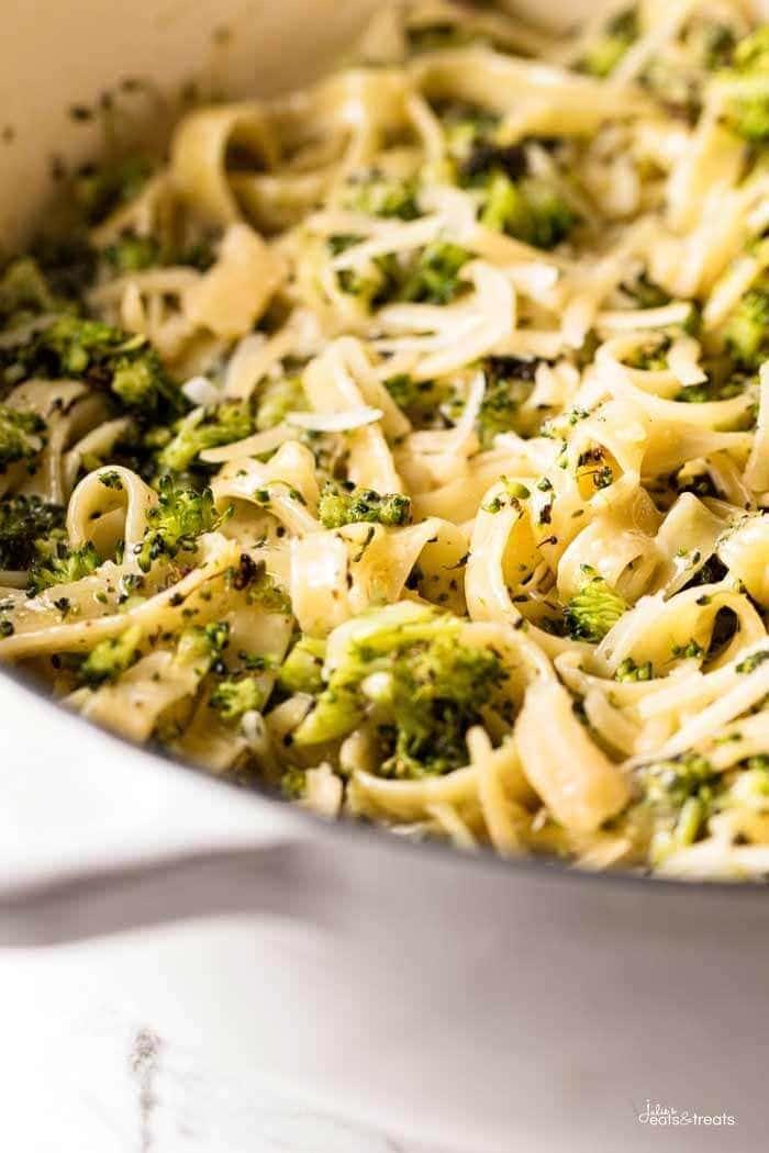 Roasted Broccoli Alfredo