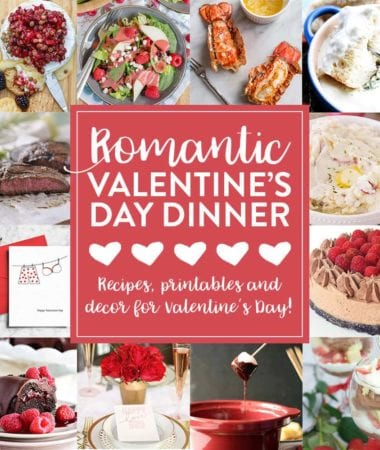 Valentine's Day Romantic Meal Plan
