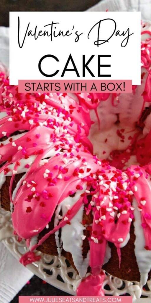 Valentine's Day Cake JET Pin Image