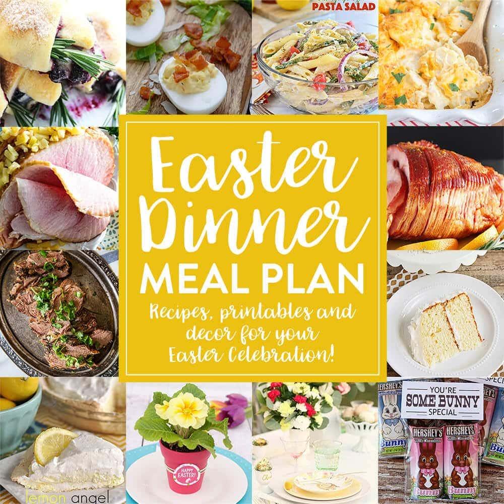 Easter dinner meal plan julie 39 s eats treats for Easter ideas for food