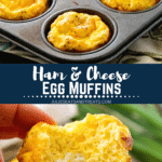 Breakfast Egg Muffins Pinterest collage