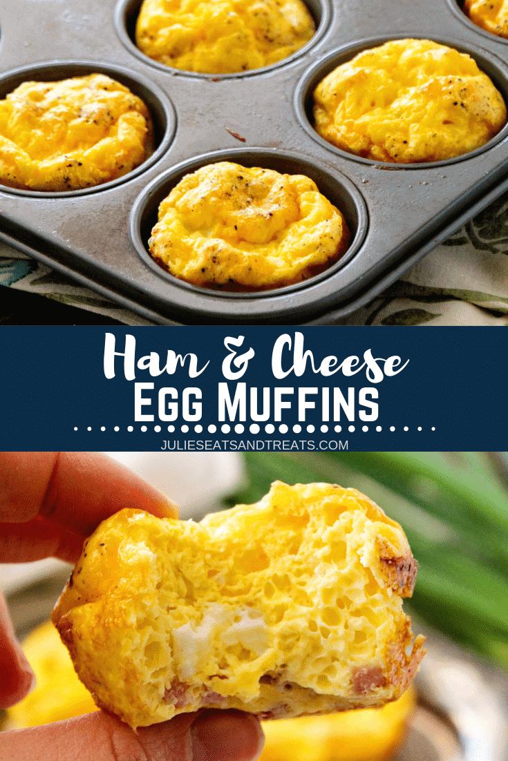 Breakfast Egg Muffins Pinterest collage
