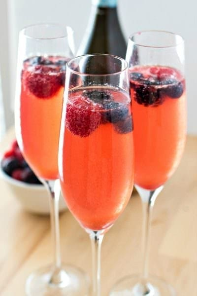 Berry Mimosas