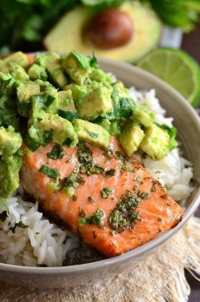 http://www.willcookforsmiles.com/2017/01/avocado-salmon-rice-bowl.html