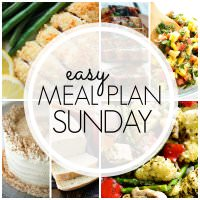 The BEST Easy Meal Plan! 6 Dinners, 1 Breakfast, 1 Healthier Meal and 2 Desserts….all tried & true, family tested, and guaranteed to make your week easier!