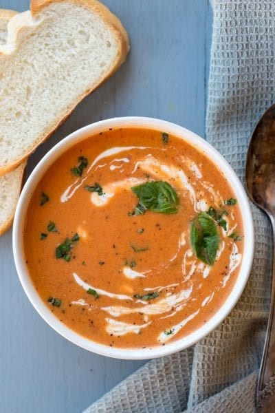 Creamy Basil Tomato Soup
