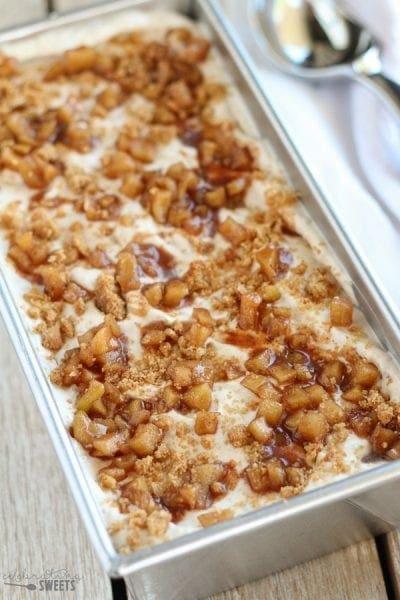 Apple Pie Ice Cream from Celebrating Sweets