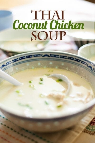 Get this recipe for Thai Coconut Chicken Soup on Ice Cream and Inspiration