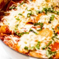 Summer Vegetable One Pot Lasagna
