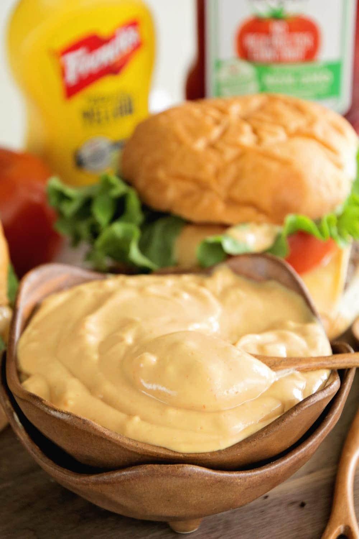 The Best Burger Sauce EVER! - Julie's Eats & Treats