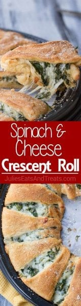 Spinach Cheese Crescent Roll