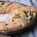 Spinach and Cheese Crescent Ring