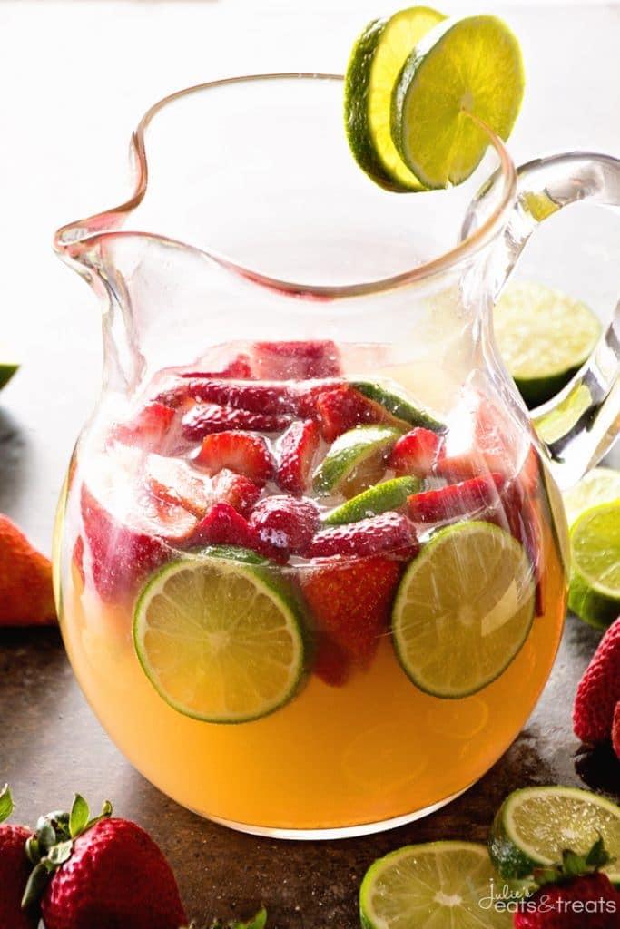 Strawberry Limeade Sangria