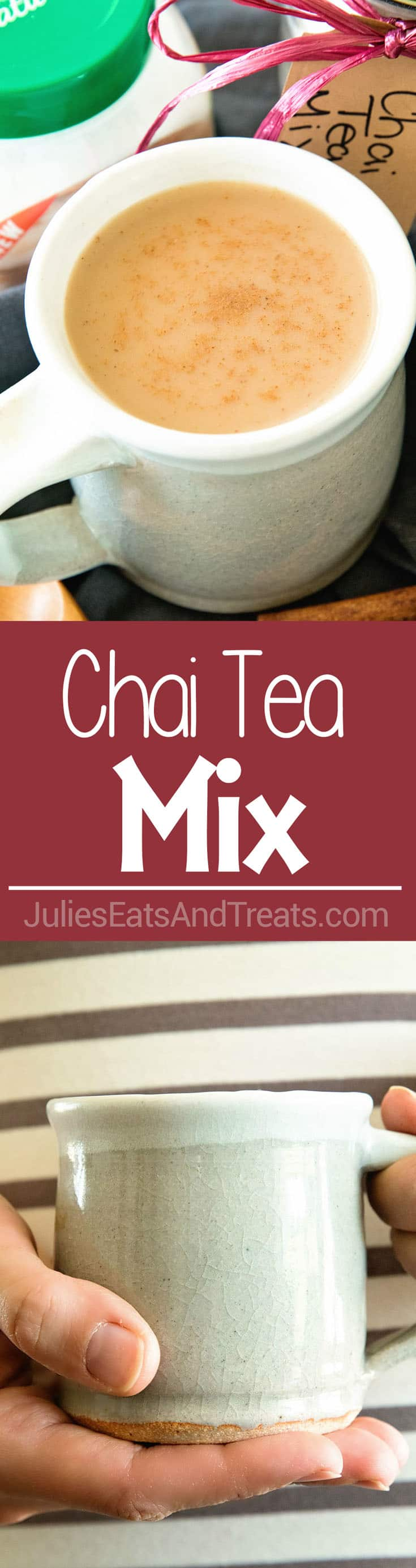 Chai Tea Mix ~ Easy Directions on How To Make Homemade Chai Tea Mix! Perfect for When You Want a Quick Cup of Chai Tea at Home!