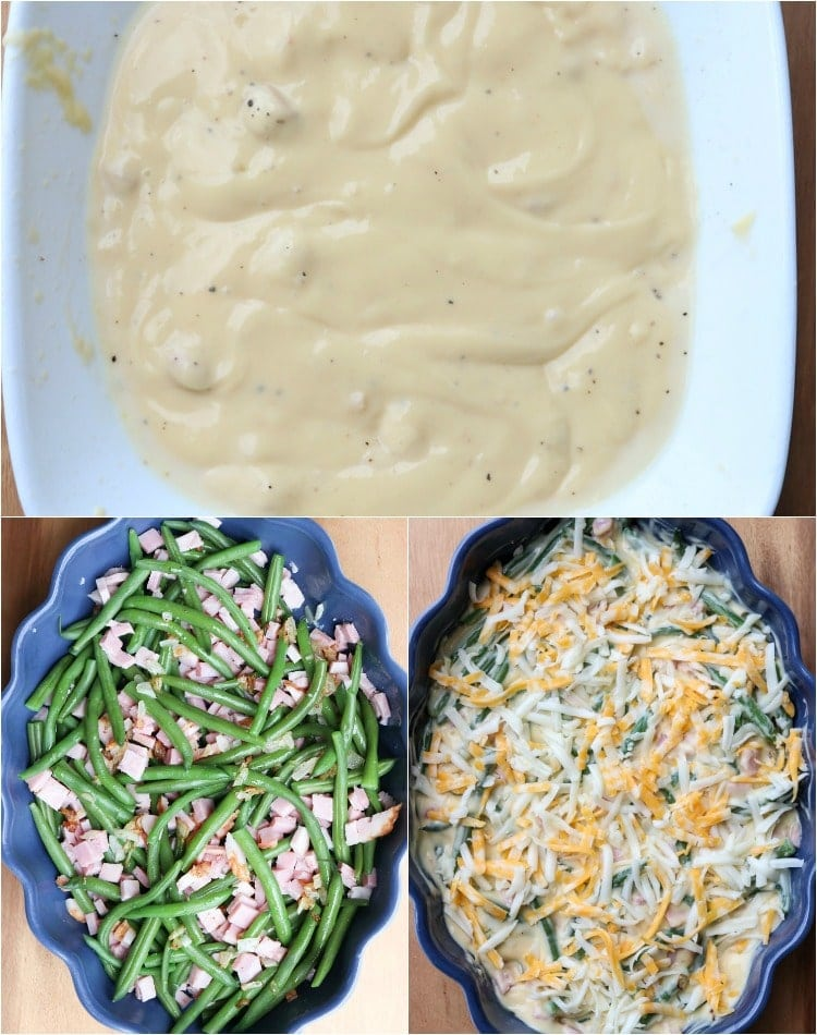 Your favorite green bean casserole turned into a main dish!