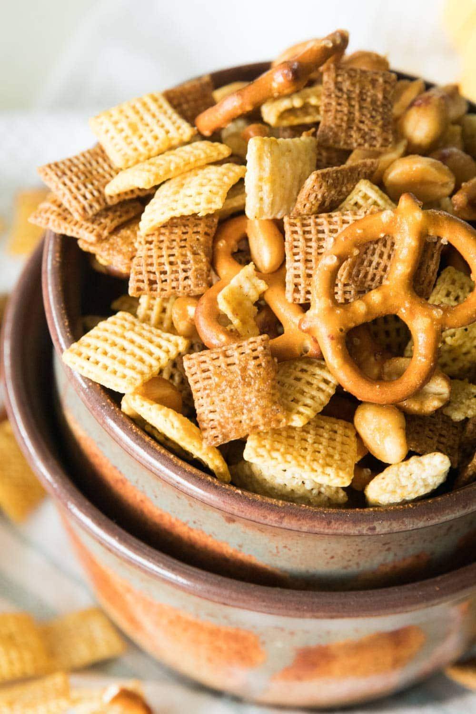 Honey Mustard Homemade Snack Mix